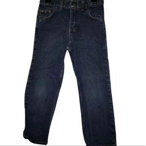 5/$20 Wrangler Size 7 Jeans Blue Girls Adjustable